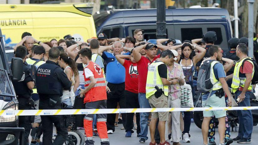 Sangre en Barcelona, heridaglobal